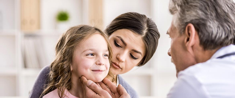 Medico e bambina